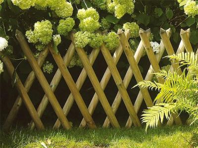 Vadász félmagas kerítés