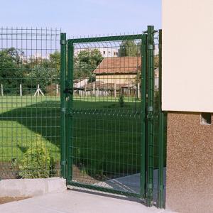 Zöld Bekafor egyszárnyú kertkapuk-1
