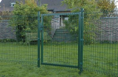 Zöld Bekafor egyszárnyú kertkapuk