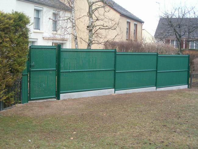 Belátásásgátló Garten kapuhoz