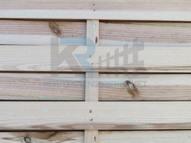Vértes keret nélküli fa tábla