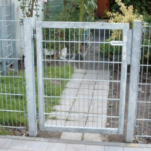 Garten horganyzott egyszárnyú kapuk
