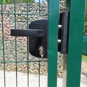 Garten zöld egyszárnyú kapuk-1