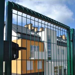 Garten zöld egyszárnyú kapuk-2