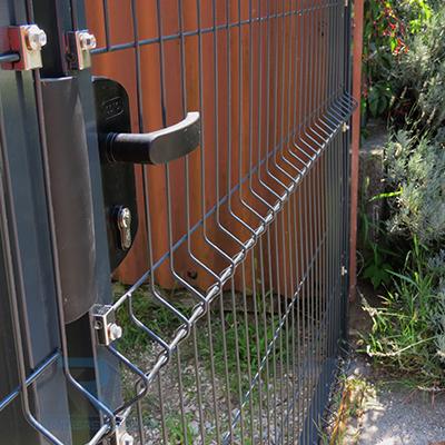 Garten antracit egyszárnyú kapuk