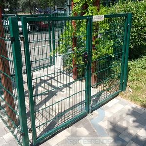 Garten zöld kétszárnyú kapuk