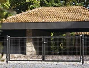 Garten antracit kétszárnyú kapuk
