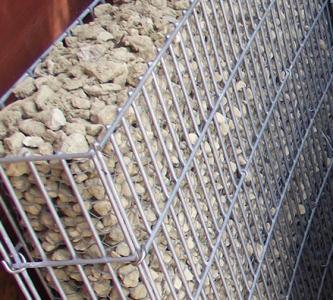 Vékony gabion fal szettek