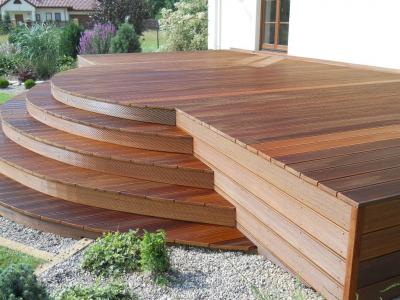 Fa kültéri padló