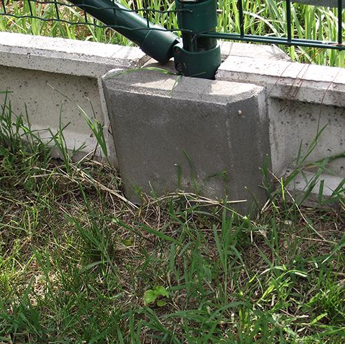 Előregyártott beton lábazatok