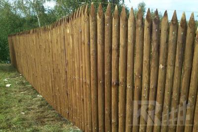 Kiegészítők fa kerítésekhez