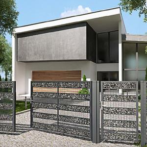 Elegance gabion kerítés-1