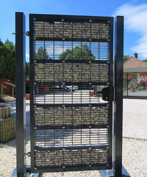 Elegance gabion kerítés