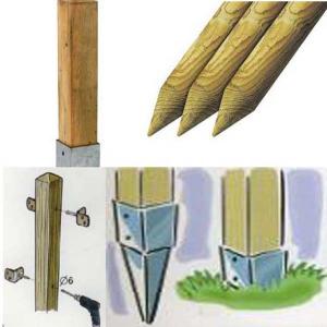 Fa termékek rögzítői