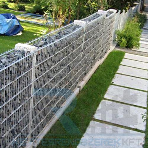 2D gabion kerítés