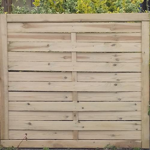 Börzsöny félmagas kerítés