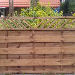 Gulács félmagas kerítés