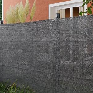 Ecotex fekete, 85%-os átlátásgátló háló