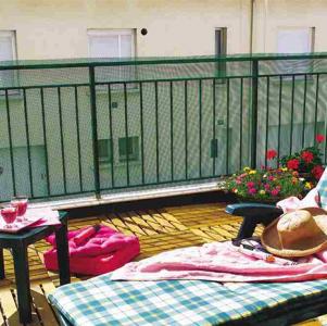 Balconet szélfogó háló