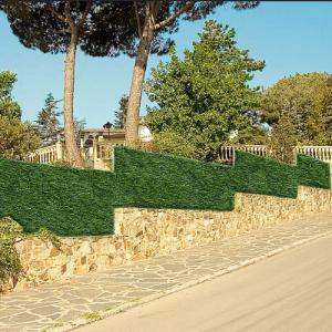 Műsövény zöld-barna