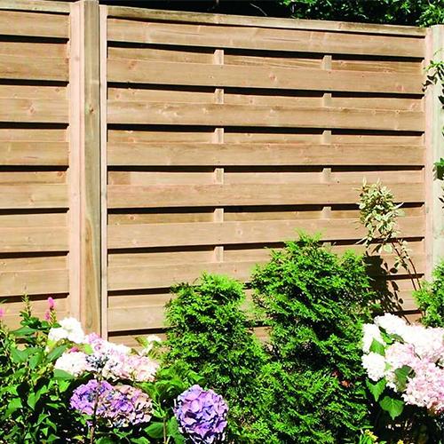 Pilis 100 fa kerítés