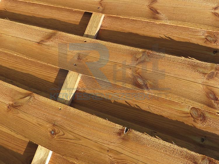 Mátra fa kerítés