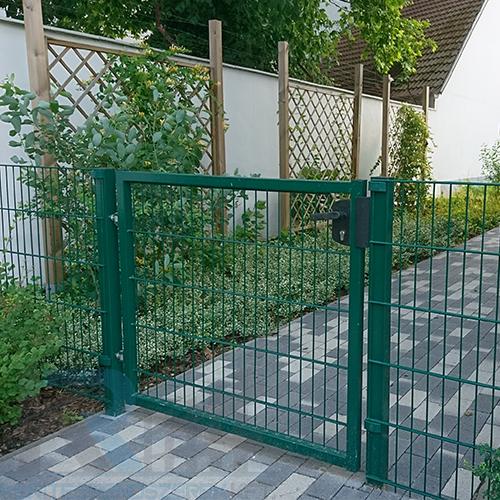 Zöld egyszárnyú kertkapuk