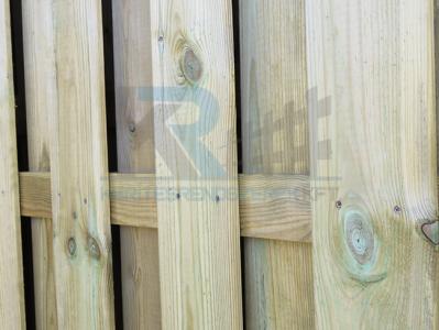 Plank Strong fa kerítés keret nélkül
