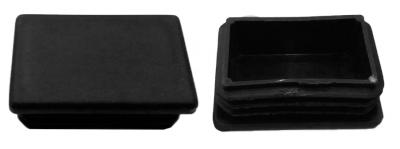 Oszlopsapka 40 x 60 mm fekete