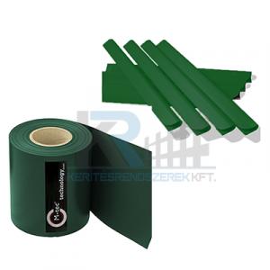 ECOFLEX Light betét műanyag 190mm x 35m zöld 450g/m2 + 20db zárósín