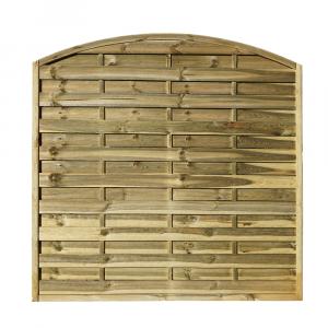 Tihany kerítéselem íves 180x180 cm 40x44 mm kerettel
