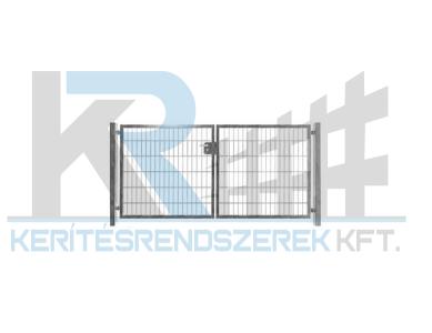 Garten 2D kétszárnyú kapu 3,5mx1,8m, horganyzott