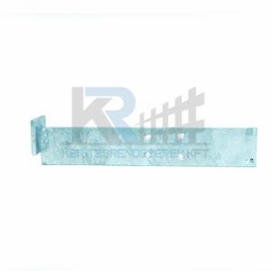 Gabion fal tábla tartó 2D táblához, 30x170mm, 4 furattal, horganyzott, önmetszőcsavarokkal
