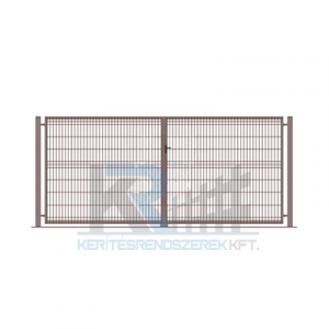 Garten 3D kétszárnyú kapu 3x1,7m, antracit