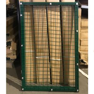 Garten kiskapu szárny, 0,67x1,2m, zöld