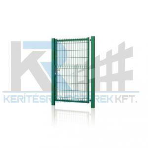 Garten 3D egyszárnyú kapu 1x1,5m zöld