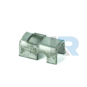 Univerzális rozsdamentes lefogófül (helyettesítő termék) önmetsző csavar nélkül (RFID)