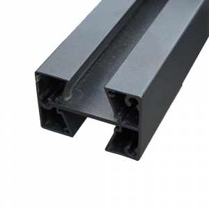Aluminium köztes oszlop WPC-hez 77x58x1860mm antracit