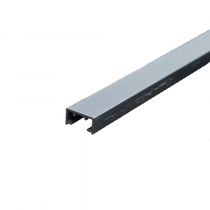 Aluminium takarósín WPC-hez 25x13x1000mm antracit