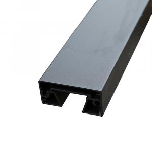 Aluminium Vég oszlop WPC-hez 77x58x1860mm antracit