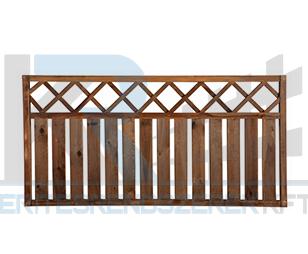 Siklós táblás kerítés egyenes 180x90 cm