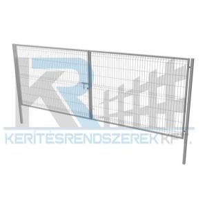 Garten 3D kétszárnyú kapu 3x1,5m horganyzott