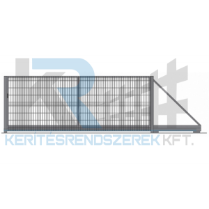 Garten 3D úszókapu 4,5 m x 1,7 m, horganyzott