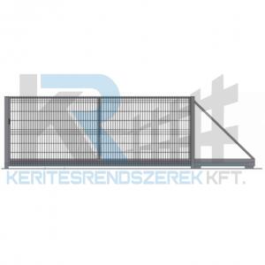 Garten 3D úszókapu 4,5 m x 1,5 m, horganyzott