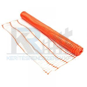 Securmesh háló, narancs 1x50m, 100x40mm osztás MC2