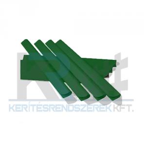 ECOFLEX betét műanyag záró sín 19cm, zöld