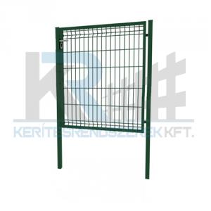 Garten 3D egyszárnyú kapu 1x1,2m zöld