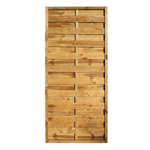 Mátra egyenes kerítés elem 90x200 cm, 36x42 mm kerettel, 5x95 mm lamellákkal