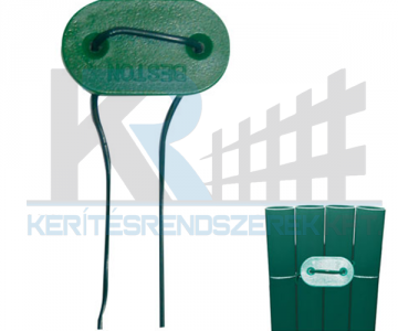 Fixcane zöld műnád rögzítő 26db/csomag