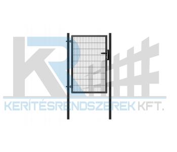 Garten 2D egyszárnyú kapu 1mx1,6m, horganyzott